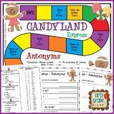 Candyland Express--Antonyms Game