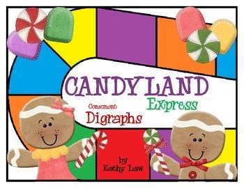 Candyland Express - Consonant Digraphs