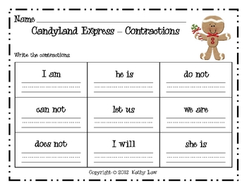 Candyland Express-Contractions