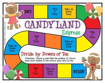 Candyland Express--Divide by Powers of Ten
