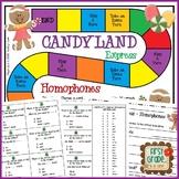 Candyland Express--Homophones Game