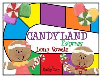 Candyland Express - Long Vowels/Vowel Teams