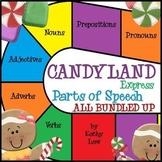 Candyland Express - Parts of Speech Games All Bundled Up!