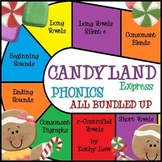 Candyland Express - Phonics Games All Bundled Up!