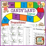 Candyland Express--Prepositions Game