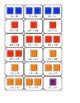 Candyland Multiplication Cards