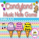 Musical Candy Game {Treble Clef Note Reading}