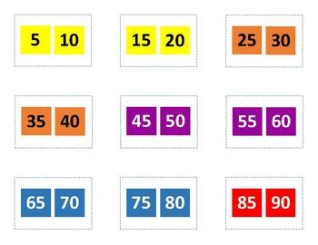 Candyland Number Identification 0-120
