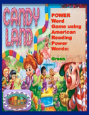Candyland Power Words Green