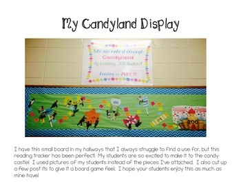 Candyland Reading Bulletin Board Display