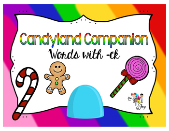 Candyland - Words with Final -ck