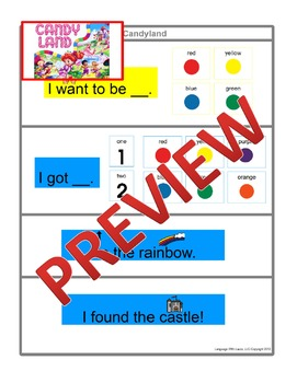 Candyland [speech therapy and autism]