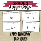 Early Numeracy Task Cards