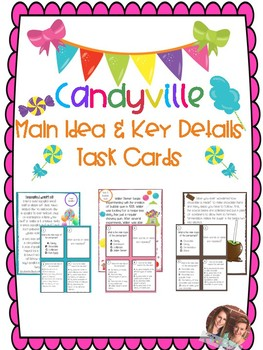 Candyville Main Idea and Key Details