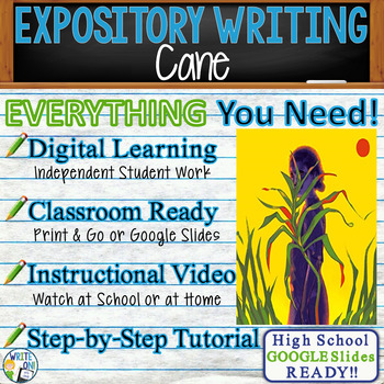 Cane by Jean Toomer - Text Dependent Analysis Expository Writing