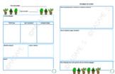 Canevas de planification (stage) / Planning canvas (internship)