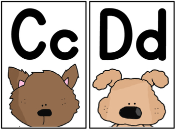 Canine Central - Word Wall Words