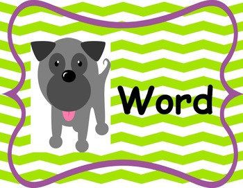 Canine Cuties Dog Theme Classroom Decor