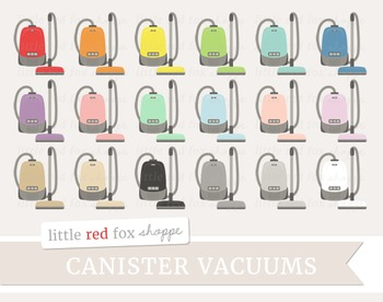 Canister Vacuum Clipart; Vacuum Cleaner, Clean, Cleaning