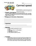 Canned Speed Ramp Lab