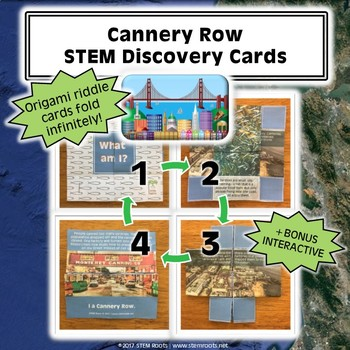 Cannery Row STEM Discovery Cards Kit
