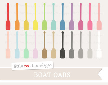 Canoe Paddle Clipart