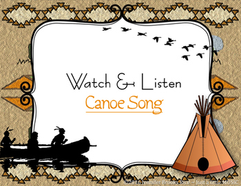 Canoe Song - A Native American Folk Song w/ Orff Instrument Accompaniment