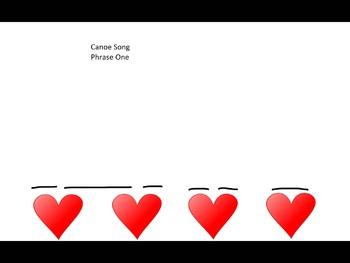 Canoe Song- Visual Representation- Syncopation