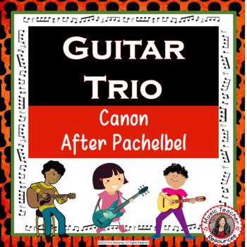 Guitar Trio: 'Canon after Pachelbel'