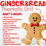 Gingerbread Man Activities Thematic Unit