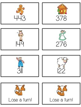 Can't Catch Me Math Folder Game - Common Core - Rounding to Nearest 100th