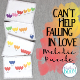 Can't Help Falling in Love, Melodic Puzzle