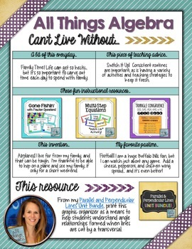 Can't Live Without It: All Things Algebra's Free Resource