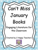 Can't Miss January Books: Engaging Literature for the Classroom