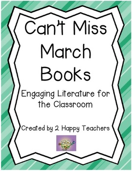 Can't Miss March Books: Engaging Literature for the Classroom
