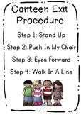 Canteen Exit Procedure