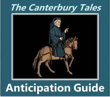 Canterbury Tales Anticipation Guide