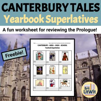 Canterbury Tales Character Superlatives