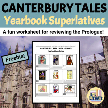 Canterbury Tales Prologue Activity: Yearbook Superlatives