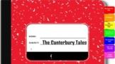 Canterbury Tales Interactive Digital Notebook