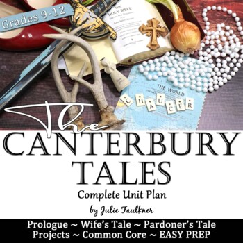 Canterbury Tales, Literature Guide, Unit Plan, Chaucer