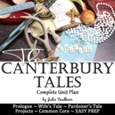 The Canterbury Tales, Literature Guide, Unit Plan, Chaucer