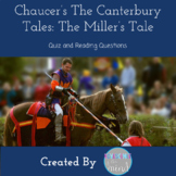Canterbury Tales Miller's Tale Quiz and Reading Questions