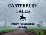 Canterbury Tales: Pilgrim Autobiography Activity - Public Speaking & Analysis