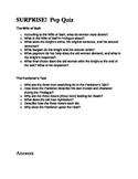 Canterbury Tales Pop Quiz