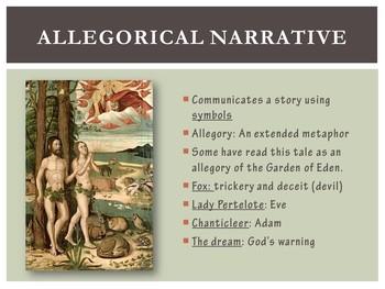 Canterbury Tales - PowerPoint - Nun's Priest's Tale (AP)