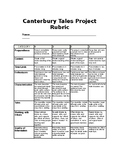 Canterbury Tales Project Rubric