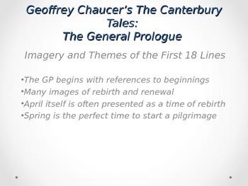 Canterbury Tales Prologue & Characters