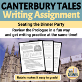 Canterbury Tales Prologue: Dinner Party Writing Assignment
