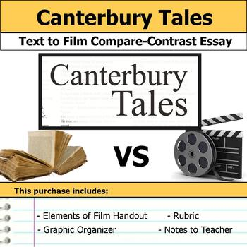 Canterbury Tales - Text to Film Essay